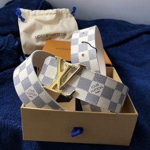 Louis Vuitton Checkered White Damier Azur